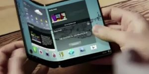 smartphone pliable samsung