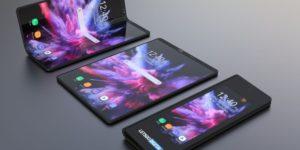 smartphone pliable galaxy f