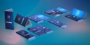smartphone pliable intel