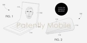 patently mobile smartphone pliable google
