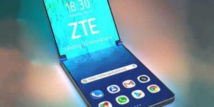 smartphone pliable ZTE