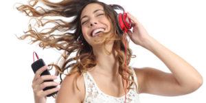 smartphone pliable musique